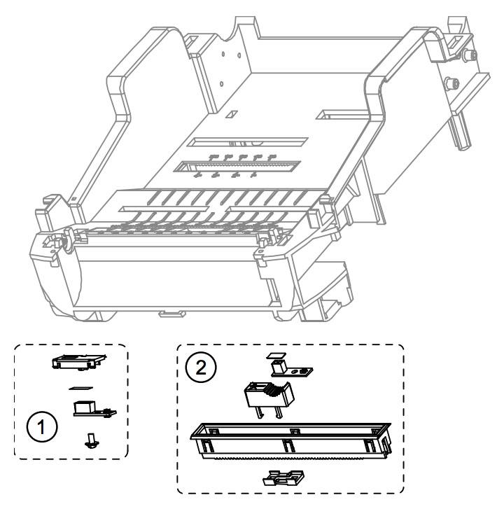 Датчики (сенсоры) для принтера этикеток Datamax E-4305 Mark III