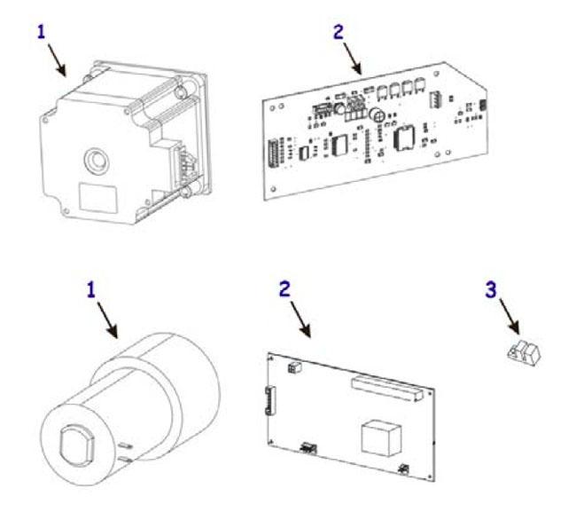 Комплектующие автоотрезчика для термопринтера Zebra 105SL