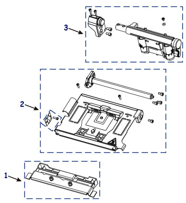 Комплектующие печатающего механизма Zebra ZT230