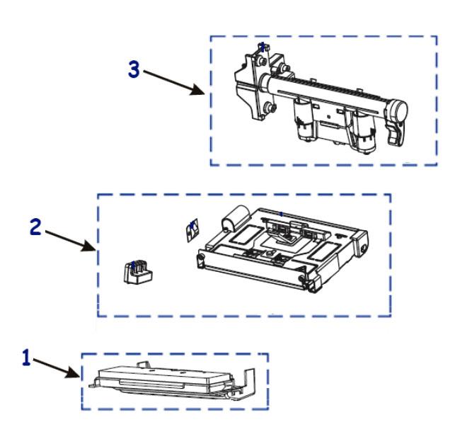 Комплектующие печатающего механизма Zebra ZT420