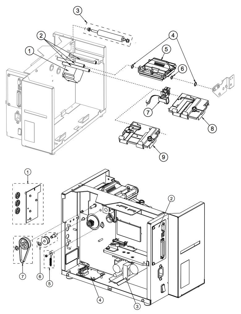 Механизм принтера Datamax ST-3306