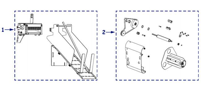 Опции для принтера Zebra Xi4