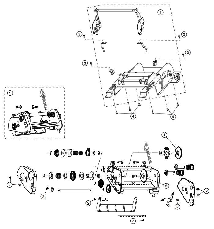 Печатающий механизм 4206 Datamax