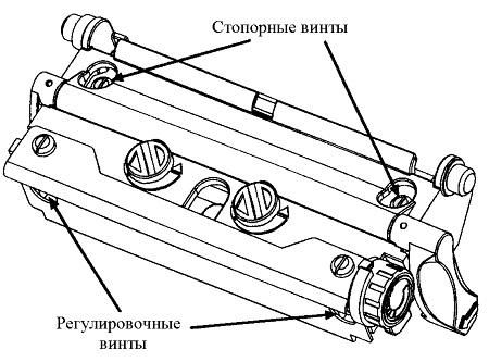 Регулировка линии прижигания, Datamax, I-4208, I-class