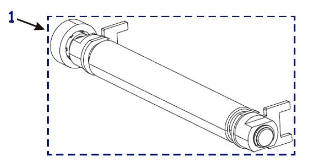 Резиновые ролики для принтера Zebra ZT230