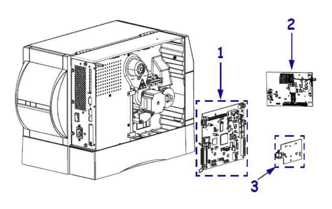 Электронные комплектующие для принтера Zebra ZM400