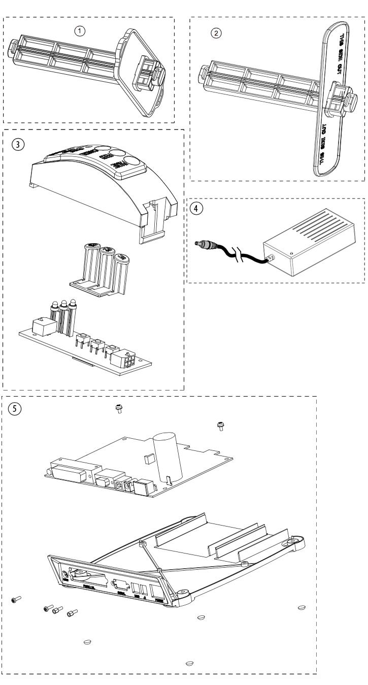 держатель электроника панель datamax e-class