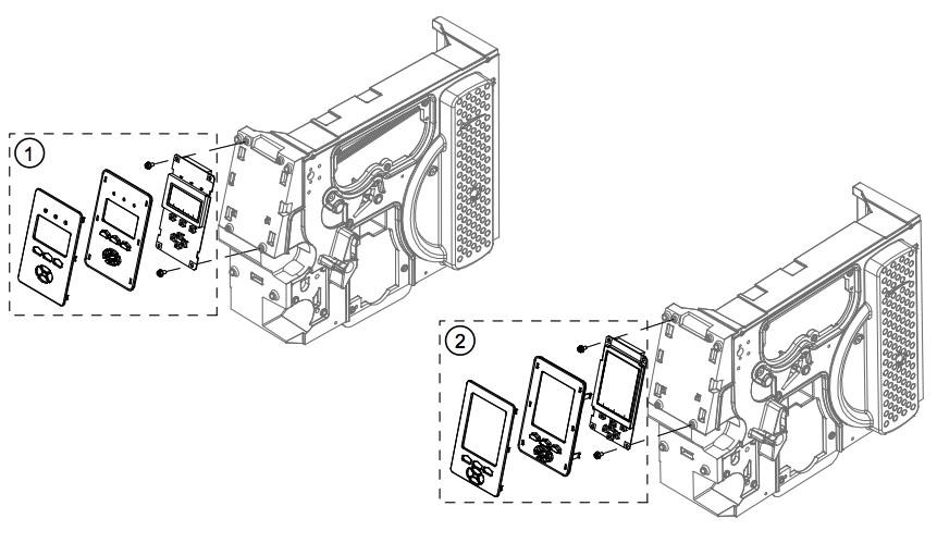 дисплей передней панели принтера Datamax