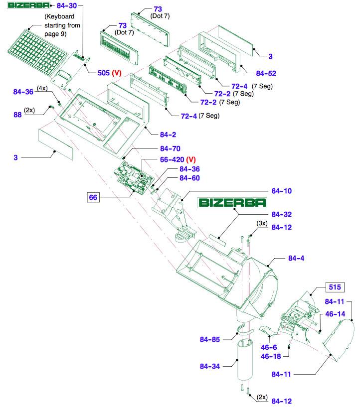 Дисплей Bizerba BC-II 800
