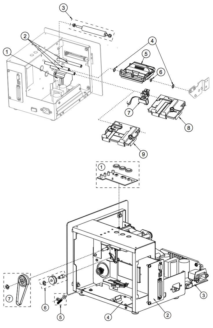 механизм принтера sv-3210 datamax