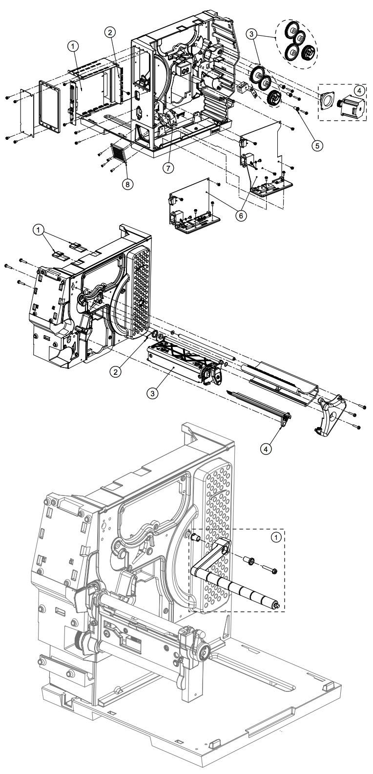 механизм принтера datamax