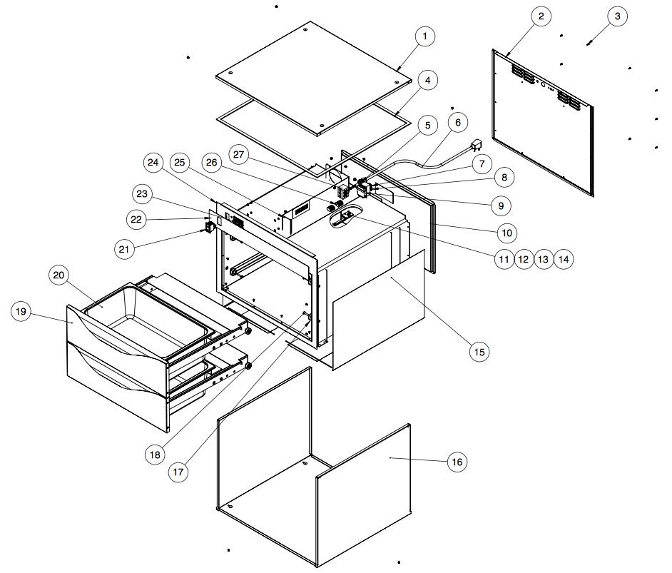 основные комплектующие alto saam 500-D