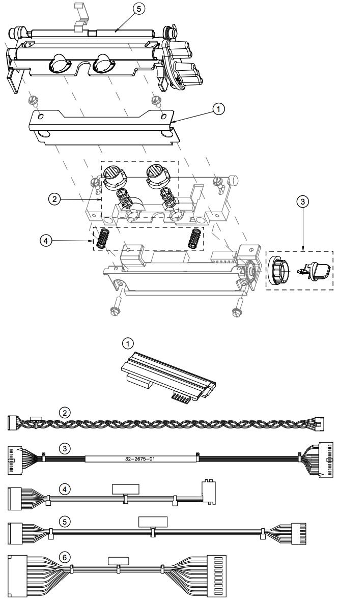 печатающая головка в сборе i-class mark ii