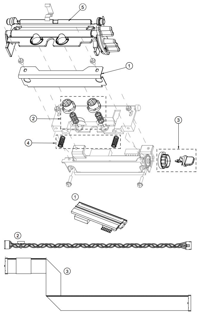 печатающая термоголвка Datamax I-class