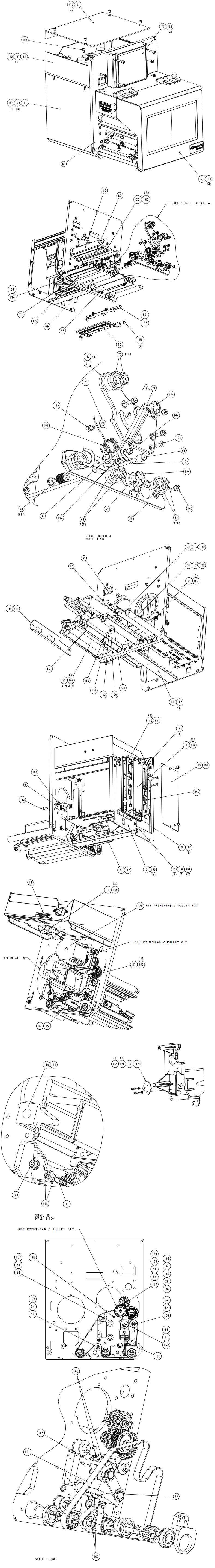 печатающий механизм datamax a-class lh