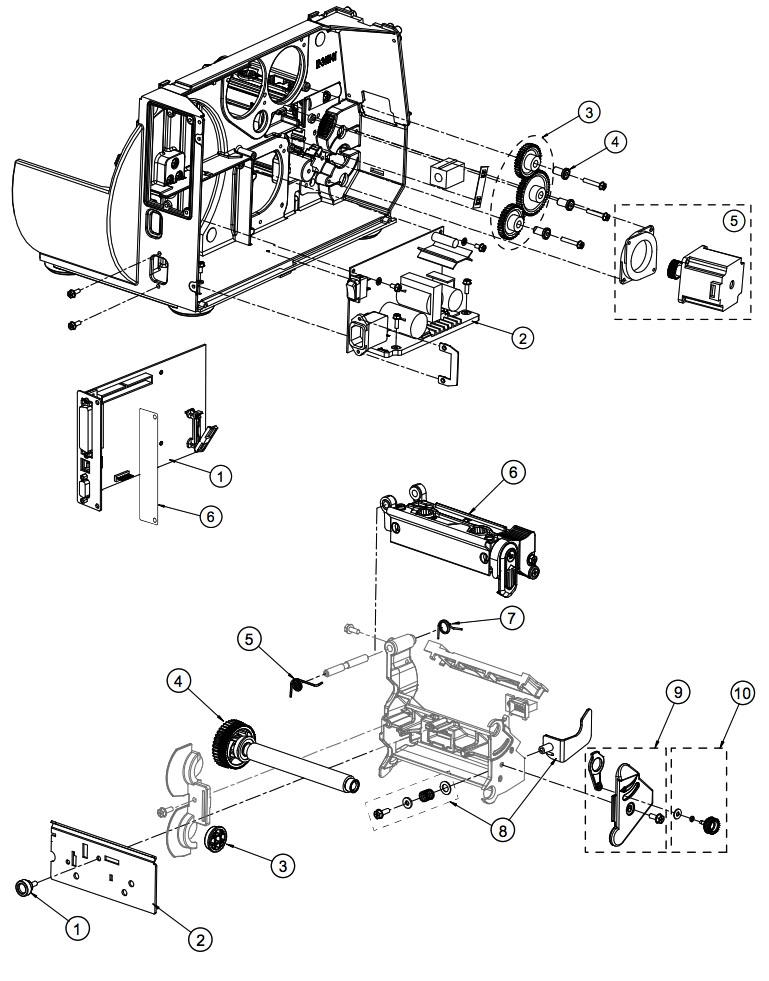 печатающий механизм M-4308 datamax