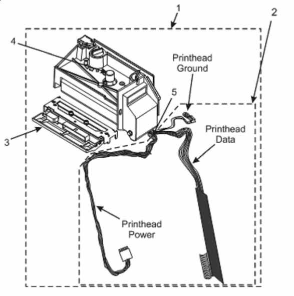 Печатающий механизм Zebra