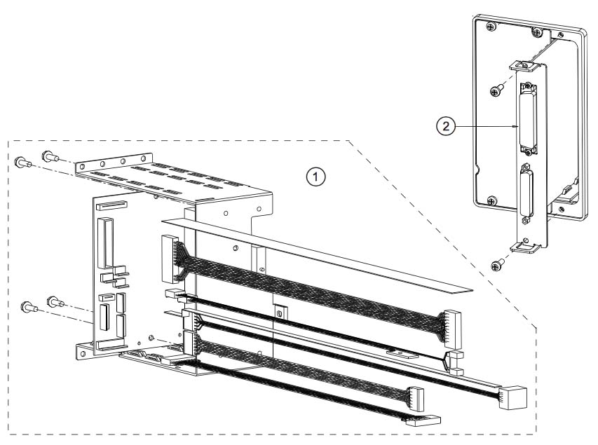 платы и кассета для установки плат datamax w-class