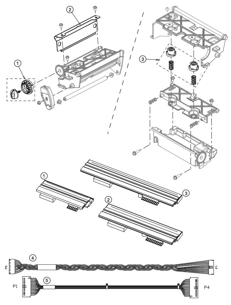 термоголовка принтера Datamax