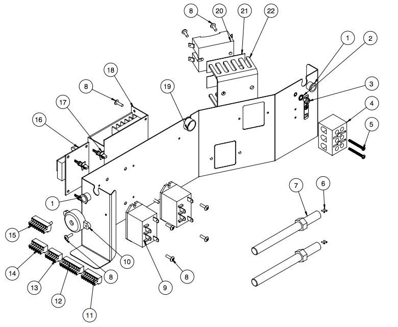 Электронные компоненты Alto Shaam 1767-SK-III