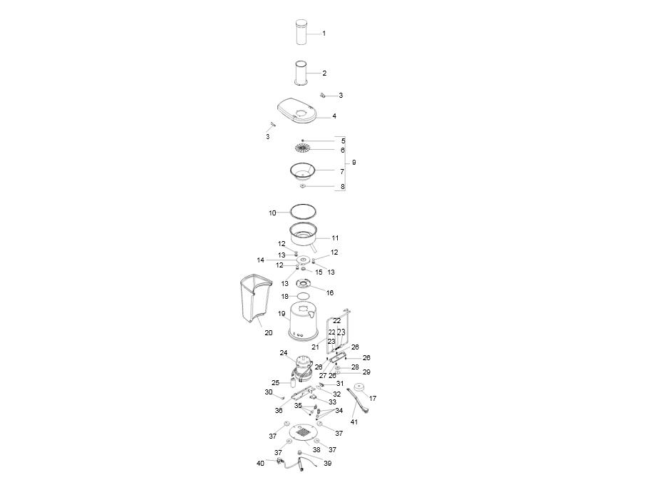 Взрыв-схема Fimar SFV30, деталировка Fimar SFV30