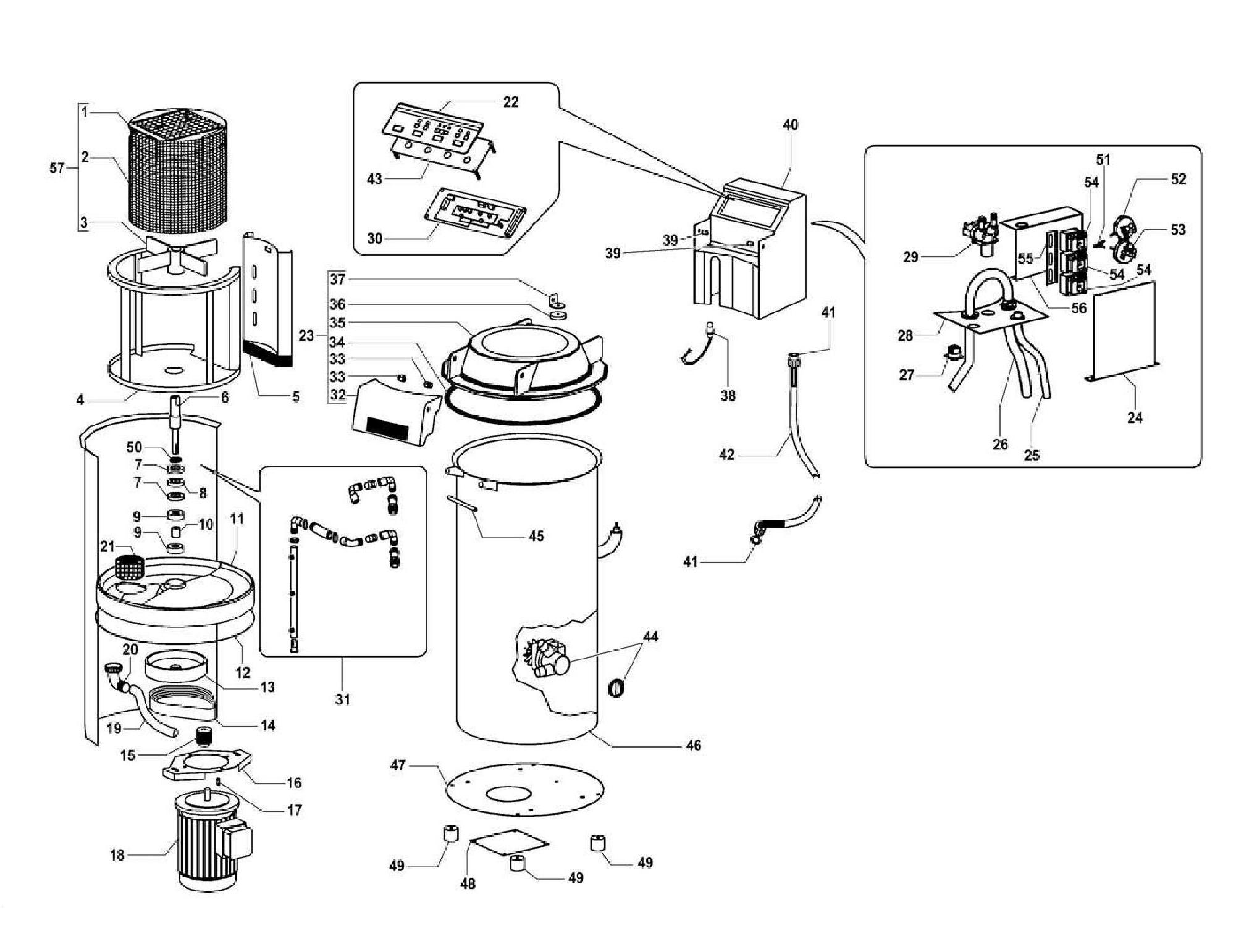 Взрыв-схема Fimar LAV, деталировка Fimar LAV