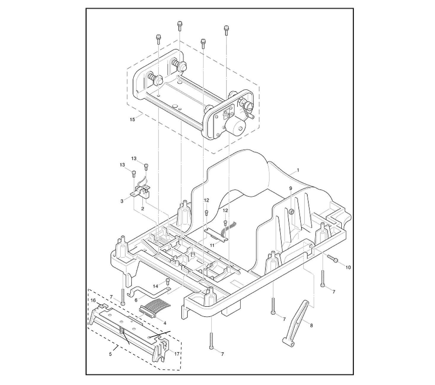 Комплектующие печатающего механизма TSC TTP-245 plus