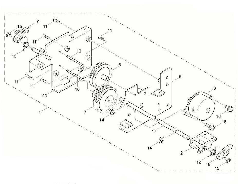 Комплектующие редуктора TSC TTP-245 plus