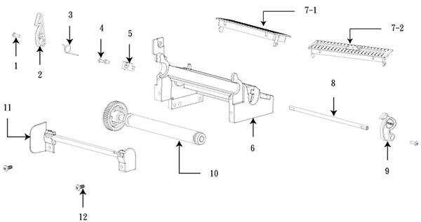 tsc-ttp-346m-detali-nizhnego-mehanizma-pechati