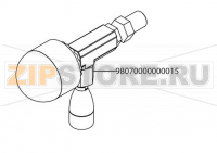 Combined hot water tap high groups Victoria Arduino Adonis 2 Gr