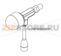 Combined hot water tap low groups Victoria Arduino Adonis 2 Gr