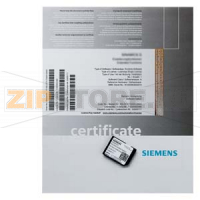 SINUMERIK 840D SL INTEGRATED SPINDLE MONITOR ОПЦИЯ ПО DELIVERY OF A LICENSE Siemens 6FC5800-0AP55-0YB0