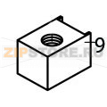 Hot gas coil 110/115V 60 Hz Brema VM 350