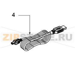 72-0050002-01LF - Кабель RS-232 TSC TTP-268M