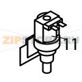Inlet watervalve 1 way 220/240V 50 Hz Brema VM 350