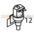 Inlet watervalve 1 way 110/115V 60 Hz Brema VM 350