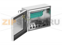 Интерфейс Multi-Input/Output Junction Box, Stainless Steel F.MIO.S12.*12.P.*.***.***.**00 Pepperl+Fuchs