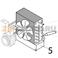 Air condenser support Brema IC 24
