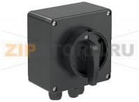Выключатель Switch Disconnector Ex e 25 A 3 Pole, GRP Enclosure DIS.P.025.3P.1NO Pepperl+Fuchs