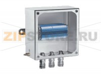 Взрывозащищённая коробка Terminal Junction Boxes Stainless Steel SLS**.T Pepperl+Fuchs