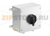 Выключатель Switch Disconnector Ex e 25 A 6 Pole, Stainless Steel Enclosure DIS.S.025.6P.1NO.1NC Pepperl+Fuchs