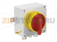 Выключатель Safety Switch Ex e 25 A 3 Pole, Stainless Steel Enclosure SAF.S.025.3P.1NO Pepperl+Fuchs