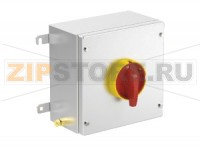 Выключатель Safety Switch Ex e 40 A 3 Pole, Stainless Steel Enclosure SAF.S.040.3P.1NO Pepperl+Fuchs