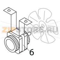 Fan motor 110/115V 60 Hz Brema IC 24