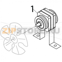 Fan motor Brema IF 26